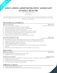 Medical Assistant Resume Samples Free Administrative Jobs