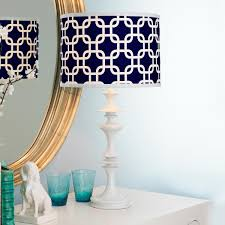 bedroom table lights awesome white spool mix and match table lamp navy white colorway