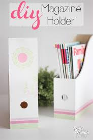 Pretty Magazine Holders Custom Make Adorable DIY Magazine Holders Tip Junkie