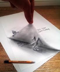 3d optical illusion drawing