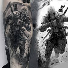 тату ассасин крид татуировки татушка