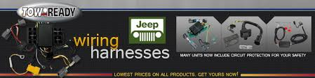 tow ready wiring harnesses jeep 4wheelonline com tow ready wiring harness tow ready wiring harnesses for jeep Tow Ready Wiring Harness