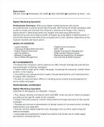 Digital Marketing Resume Sample Best Of Digital Marketing Resume Examples Social Media Marketing Resumes