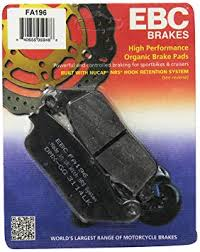 Motorcycle Brake Pad Cross Reference Chart Fa196 Organic Front Ebc Brake Pads For Triumph