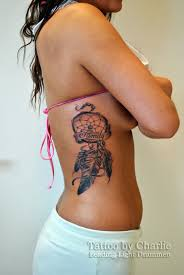 Dream Catcher Tattoo On Side Dreamcatcher Tattoos Tattoospeter 72