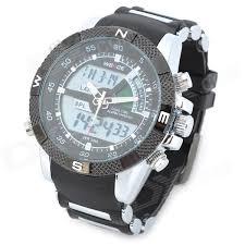 weide men s resin band quartz digital analog wrist watch black weide wh1104pu bw men s resin band quartz digital analog wrist watch black silver white
