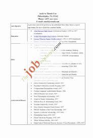 High School Student Resume Templates No Work Experience Luxury Cna