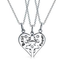 f puzzle necklaces write the first review best friends forever