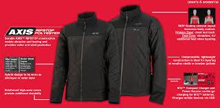 Milwaukee Heated Jacket Light Colors M12 Heated Mens Axis Jacket S Kit Construction