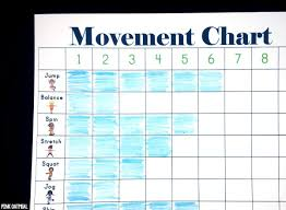 Tracking Chart Ideas Movement Charts Pink Oatmeal
