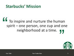 Starbucks Powerpoint Template Presentationgo Com
