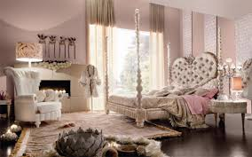 Luxury Bedroom Decorating Glamorous Girls Bedroom Decorating Idea With Charming Four Poster