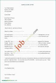 Cover Letter Format For University Job Good Resume Cover Letter