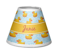 rubber duckie chandelier lamp shade personalized