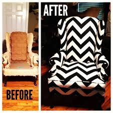 Reupholstered wingback chair! In love!   Home is where the heart ...