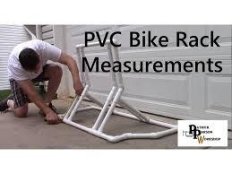 pvc bike rack measurements and design
