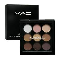 mac eyeshadow palette 9 shades cosmetic makeup professional free ship