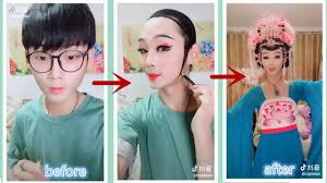 chinese drag queen makeup transformation man in makeup best makeup transformation