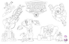 Small Picture Transformers Rescue Bots Coloring Pages Coloring Pages Ideas