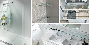 glass shelf design ideas