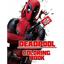 Print deadpool coloring pages for free and color our deadpool coloring! Deadpool Coloring Book Great Coloring Pages For Kids And Adults By Tiny Hero