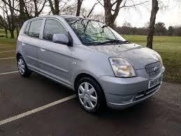 kia picanto 1 1 lx 5 door in reflex silver motor home tow car a frame ed