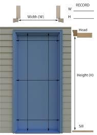 retractable screen doors. Single Retractable Screen Door Inside/Jamb Mount Measuring Guideline (click To Enlarge) Doors I