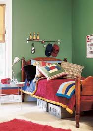 simple boys bedroom. Delighful Simple Bowlinginspired Room Design With Quite Simple Wall Decor In Simple Boys Bedroom