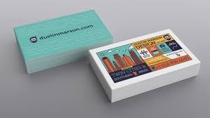 Print My Own Card Design New Business Card Design Dustin Marson Graphic Design Blog