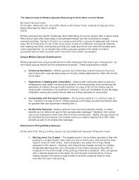 Resume Examples For Stay At Home Moms Returning To Work Resume