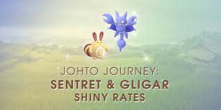 Johto Journey Sentret And Gligar Shiny Rates The Silph Road