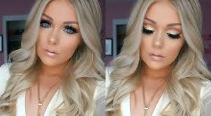 uncategorized makeup for blue eyes and blonde hair incredible prom makeup pics of for blue eyes