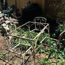 wrought iron vintage patio furniture. Vintage Wrought Iron Table And Chairs Antique Patio Furniture Shop On . U
