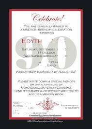 template th birthday invitation cards template 90th birthday invitation 90th birthday invitation cards