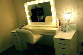 Portable Vanity Mirror With Lights Enchanting Lighted Vanity Dressing Table Mirror With Lights Portable Vanity F