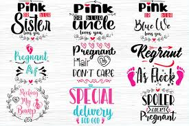One month beyond the bump (self.babybumps). Pregnancy Quotes Bundle Graphic By Svg In Design Creative Fabrica
