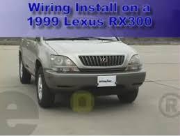 trailer wiring harness installation lexus rx video trailer wiring harness installation 1999 lexus rx 300 video com