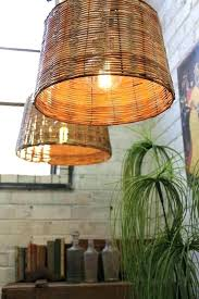 basket pendant light basket pendant light basket wicker pendant comes in a natural woven cane basket