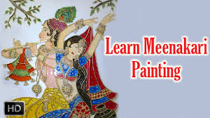 learn meenakari painting how to paint meenakari painting acrylic painting lessons you