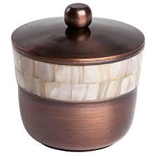Copper Bathroom Accessories Sets Paradigm Trends Opal Copper 7 Piece Bathroom Accessory Set