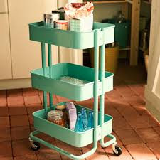 IKEA's retro Raskog cart with wheels is small enough to tuck into a pantry  and looks