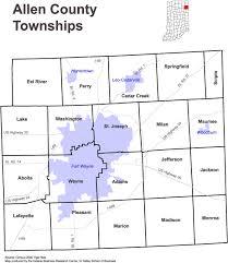 maps of allen county, indiana on allen ingenweb project Ft Wayne Indiana Map allen county, indiana township map fort wayne indiana map