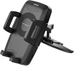 <b>Qi Fast Wireless Charger</b> Mpow CD Slot Phone Holder 7.5W Mode ...