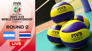 ARG vs. THA - Full Match   Eightfinals   Boys U19 World Champs 2021 -  YouTube