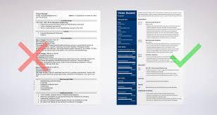 Engineering Resume Examples Software Engineer It Emphasis Civil