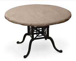 koverroos iii 37600 56 inch round table top cover 60 inch diameter taupe
