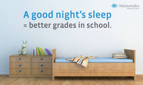 maimonides pediatric specialist encourages better sleep habits for parents should start adjusting sleep schedules before school starts advises dr monita mendiratta director of pediatric sleep medicine at the maimonides