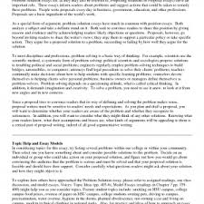 cover letter template for example of a problem solution essay   example of problem and solution essay cover letter template for example of a problem solution