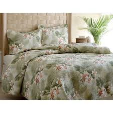 awesome tropical bedding for your bedroom decorating ideas flowers tropical bedding with potted plants and