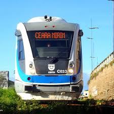 Resultado de imagem para trem urbano ceara mirim